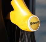 Gazole pump handle