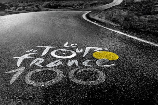 tour de france, anniversaire, 100th,logo